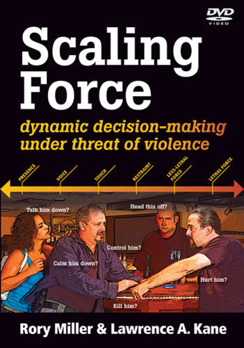 DVD Cover - Scaling Force DVD by Rory Miller & Lawrence A Kane