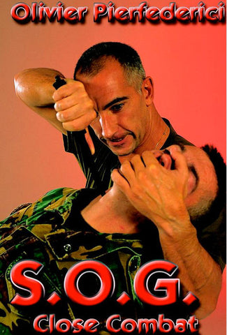 SOG Close Combat DAS Techniques DVD by Olivier Pierfederici Cover 1