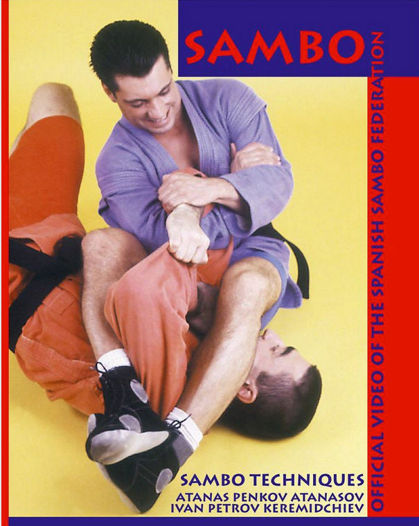 Sambo Techniques DVD Cover 1
