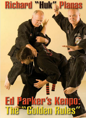 Ed Parker's Kenpo: The Golden Rules DVD by Richard Planas