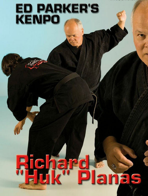 Ed Parker´s Kenpo Rules and Principles DVD Cover 1