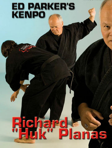 Ed Parker's Kenpo Rules and Principles DVD by Richard Planas