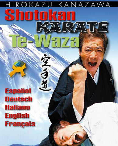 Shotokan Karate Te-Waza DVD Cover 1