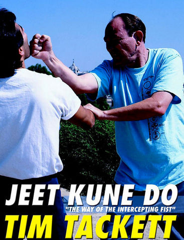 Jun Fan Jeet Kune Do Vol 1- The Way Of The Intercepting Fist DVD by Tim Tackett Cover 1