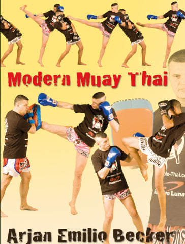 Modern Muay Thai DVD by Arjan Emilio Becker