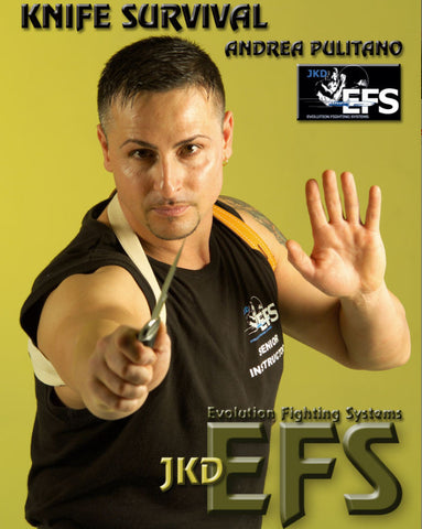 Knife Survival Evolution Fighting Systems DVD by Andrea Pulitano - Budovideos