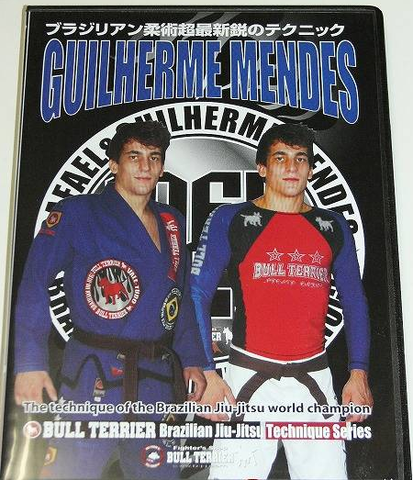 World Champion BJJ Techniques DVD with Guilherme Mendes - Budovideos