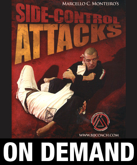 Side Control Attacks with Marcello Monteiro (On Demand) - Budovideos