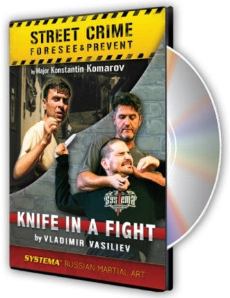 Street Crime and Knife in a Fight DVD by Konstantin Komarov