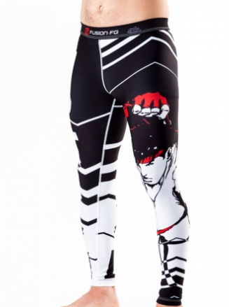 Street Fighter Ryu Spats (Officially Licensed) - Budovideos