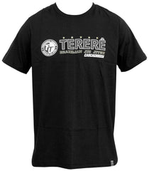 Front - Terere T-shirt Black by Cascagrossa (Limited Edition)