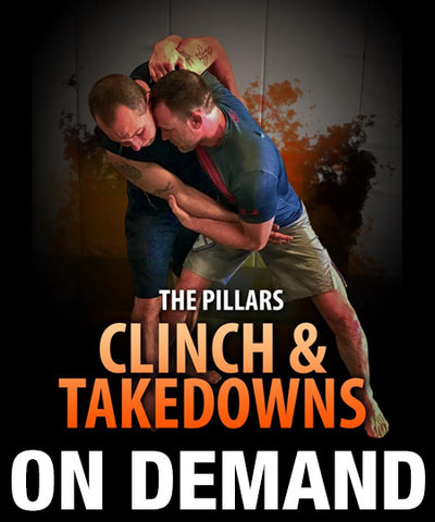 The Pillars Clinch & Takedowns 6 Volume Set by Stephen Whittier (On Demand)