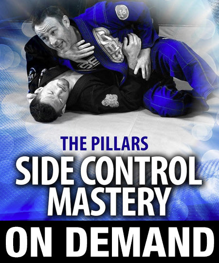 The Pillars: Side Control Mastery 7 Volume Collection by Stephen Whittier (On Demand) - Budovideos