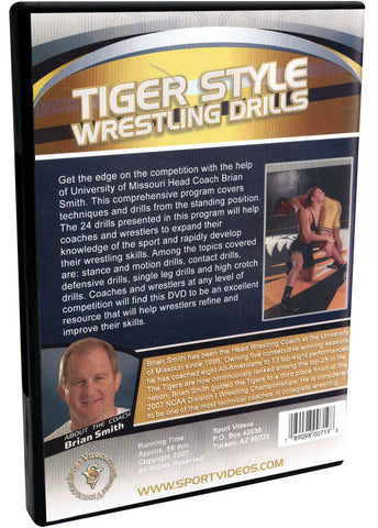 Tiger Style Wrestling Drills - On Your Feet by Brian Smith