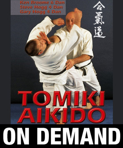 Tomiki Aikido with Ken Broome (On Demand)