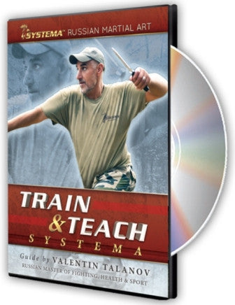 Train and Teach Systema DVD by Valentin Talanov