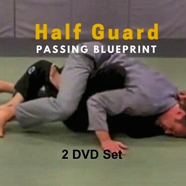 Half Guard Passing Blueprint 2 DVD Set by Stephen Whittier - Budovideos