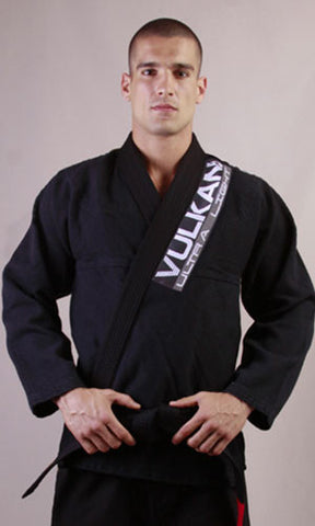Ultra Light Neo Jiu-Jitsu Gi by Vulkan - Black - Budovideos Inc