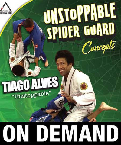 Unstoppable Spider Guard with Tiago Alves (On Demand) - Budovideos