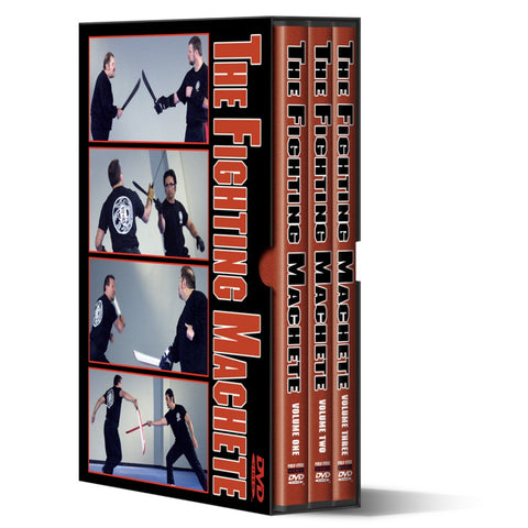 The Fighting Machete 3 DVD Set - Budovideos
