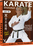 Shotokan Karate Vol 10 Secrets of Karate DVD by Students of Funakoshi - Budovideos Inc