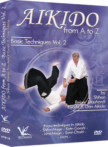 Aikido from A to Z Basic Techniques DVD 2 by Reiner Brauhardt - Budovideos Inc