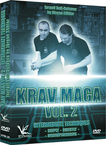 Krav Maga Israeli Self-Defense DVD 2 Intermediate Techniques - Budovideos Inc