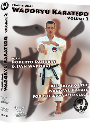 Traditional Wado Ryu Karate-Do DVD 2 All Advanced Kata By Roberto Danubio - Budovideos Inc