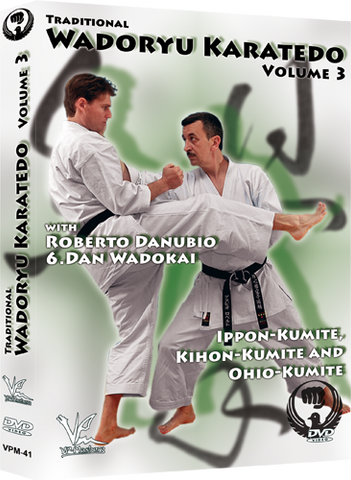 Traditional Wado Ryu Karate-Do DVD 3 Kumite By Roberto Danubio - Budovideos Inc