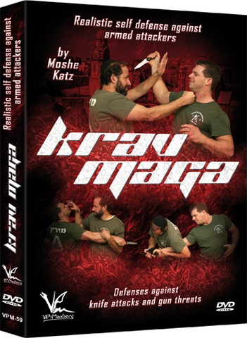 Krav Maga Realistic Self Defense Against Armed Attackers DVD by Moshe Katz - Budovideos Inc