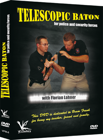 Telescopic Baton for Police & Security Forces DVD by Florian Lahner - Budovideos Inc