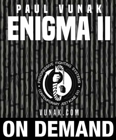 Paul Vunak Enigma II 5 Volume Jeet Kune Do
