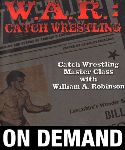 WAR Catch Wresting: Billy Robinson Complete 4 Volume Set (On Demand)