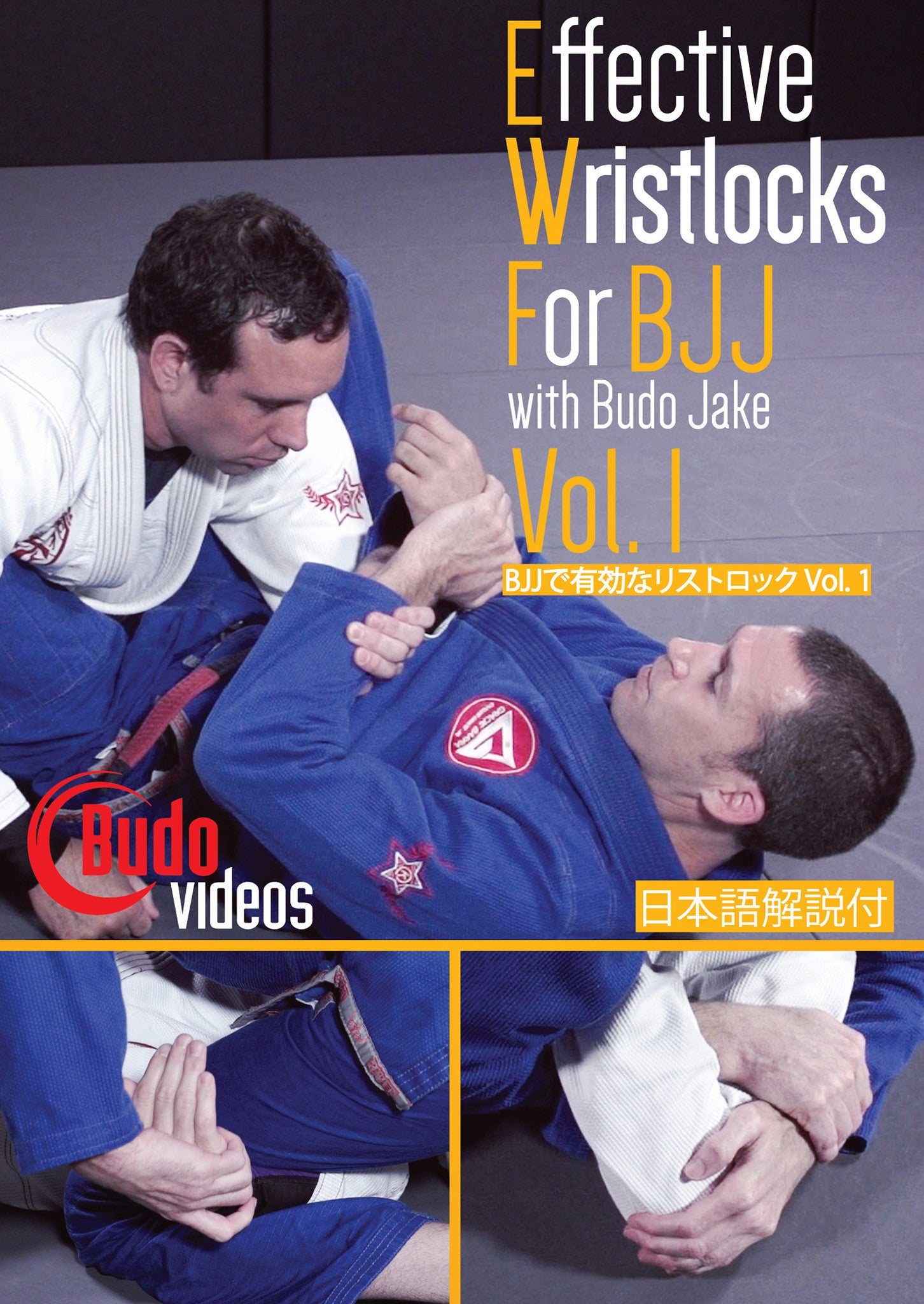 Effective Wristlocks for BJJ Vol 1 DVD by Budo Jake