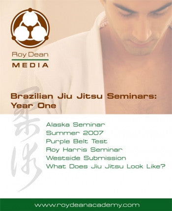 BJJ Seminars Year One DVD by Roy Dean - Budovideos