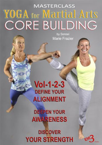 cover of Yoga for Martial Arts - Core Building 3 DVD Set by Marie Frazier 1