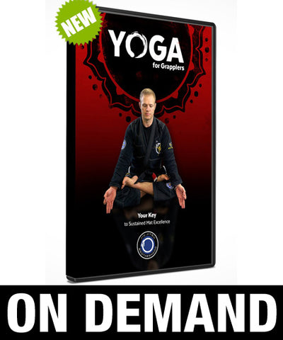 Yoga for Grapplers with Nic Gregoriades (On Demand) - Budovideos