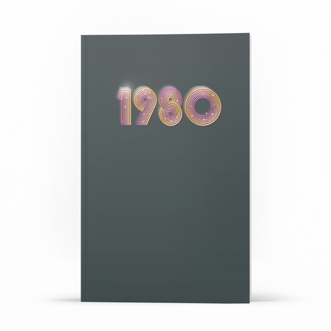 Libreta Retro - 1980 - WonderPopStudio