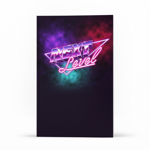 Libreta Retro - Next Level - WonderPopStudio
