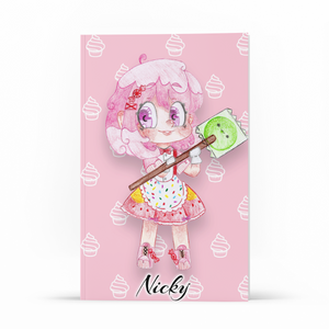 Libreta - Nicky - WonderPopStudio