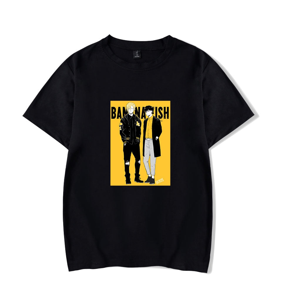 ANIMEWORLD BANANA FISH 2 fashion t-shirts men