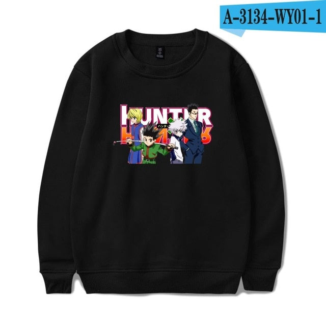 ANIMEWORLD Hunter X Hunter Oversized Hoodie Sweatshirt High Quality Hoodies
