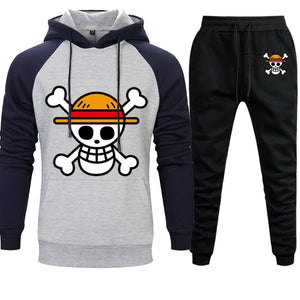 One Piece ANIMEWORLD Mens Sets Hoodies Pants