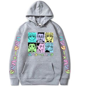 Janpanese ANIMEWORLD Hunter X Hunter Killua Hoodie