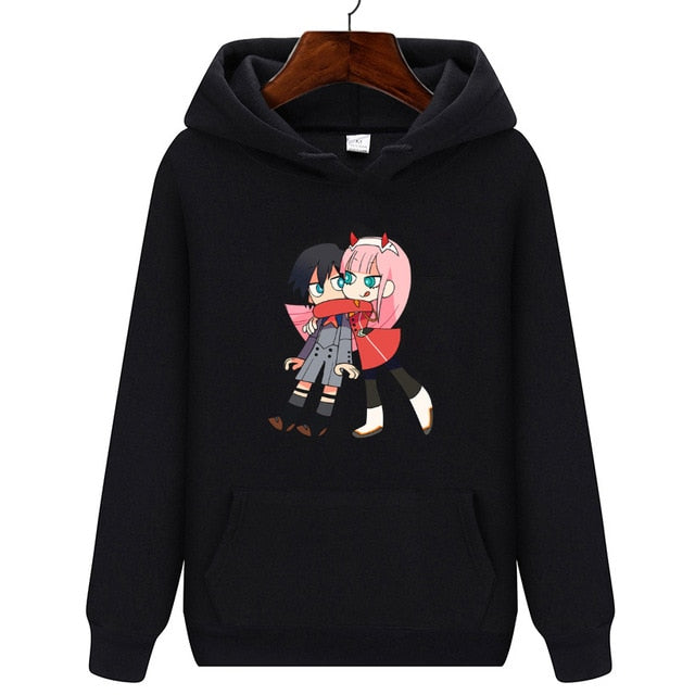 ANIMEWORLD Darling In The Franxx Zero Two HOODIE