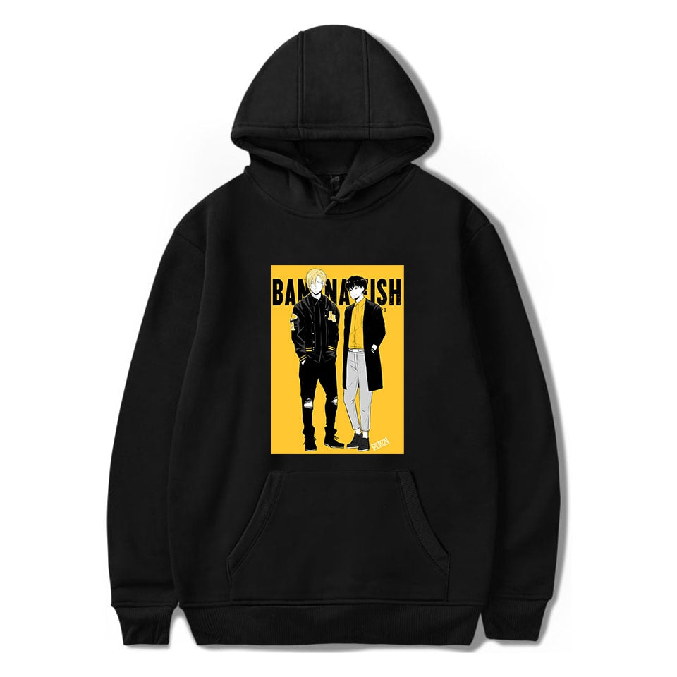 ANIMEWORLD Banana Fish Anime Hoodie