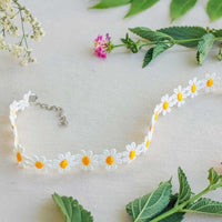 Daisy Lace Necklace
