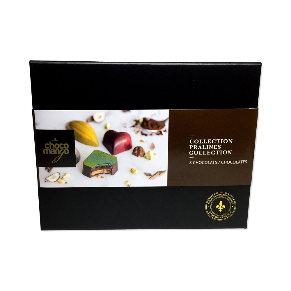Collection pralines (8 chocolats)