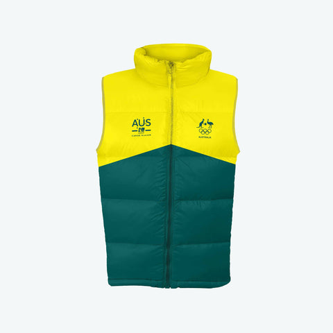 AOC Canoe Slalom Adults Green Supporter Vest