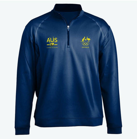 AOC Canoe Slalom Adults Navy Elite Supporter Top